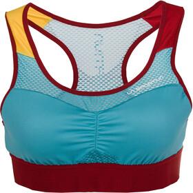 La Sportiva Captive Koszulka rowerowa Kobiety, malibu blue/berry